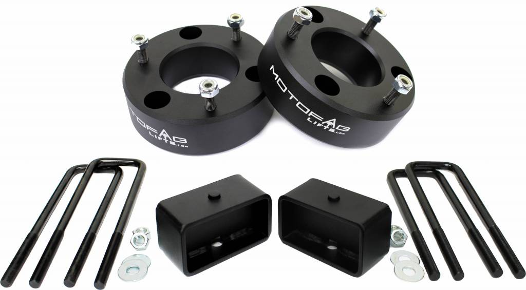 Leveling Kit ADPOW 3 Front and 2 Rear Leveling Lift Kit for 2007-2019 Chevy Silverado 1500 Sierra GMC 1500 Lift Kit
