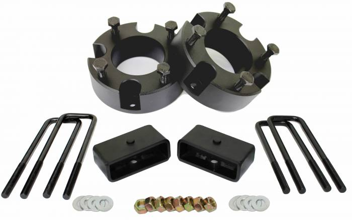 "3"" Front and 2"" Rear Leveling lift kit for 2007-2021 Toyota Tundra"