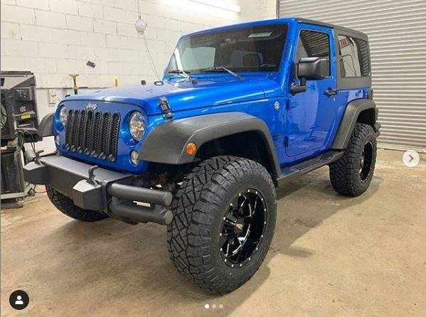 "2015 Jeep Wrangler JK MotoFab Lifts 3"" leveling lift kit (Part Number - 07-18JK3F3R)"