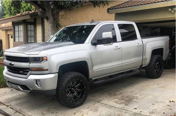 "Chevy Silverado 1500 3"" MotoFab Lifts Leveling kit"