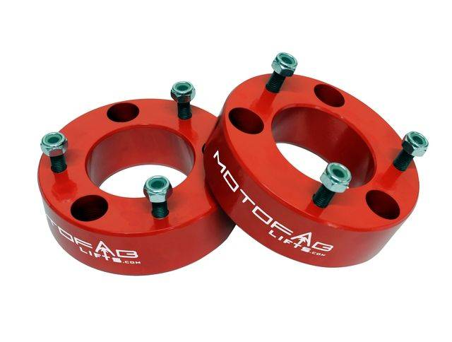 """07-19 Chevy GMC Silverado / Sierra 1500 3"""" Front Leveling Lift Kit RED"""