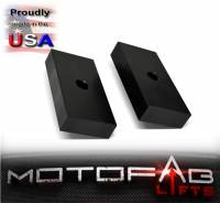 "99-19 Ford F250 F350 1"" Rear Lift Blocks SuperDuty Kit 2WD & 4WD - Image 2"