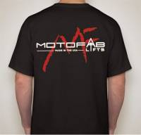Black MotoFab Lifts T-shirt - Image 1