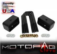 """2"""" Front and 2"""" Rear Leveling lift kit for 2007-2019 Chevy Silverado Sierra GMC - Image 3"""