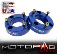 "2004-2021 Ford F150 2"" Front Leveling Lift Kit BLUE - Image 2"