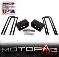 "3"" Front and 1"" Rear Leveling lift kit for 2004-2008 Ford F150 4WD - Image 3"