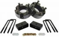 "3"" Front and 2"" Rear Leveling lift kit for 2007-2021 Toyota Tundra - Image 1"