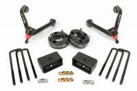 "Chevy/GMC Leveling Kits - Front and Rear Kits - 3"" Front 2"" Rear Leveling Lift Kit for 17-18 Chevy GMC Silverado / Sierra 1500 With Upper Control arms"