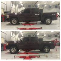 """07-19 Chevy GMC Silverado / Sierra 1500 3"""" Front Leveling Lift Kit RED - Image 2"""